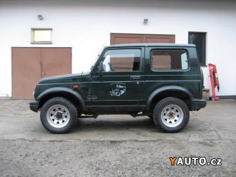 Prodám Suzuki Samurai T8, 1.3, 4x4, NOVÝ MODEL
