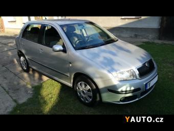 Prodám Škoda Fabia 1.4 16v 55kw. Zachovalá.