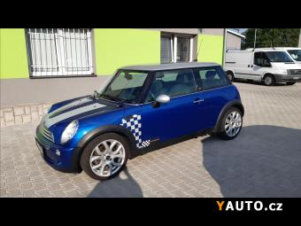 Prodám Mini Cooper 1,6 i CHECKMATE, Top