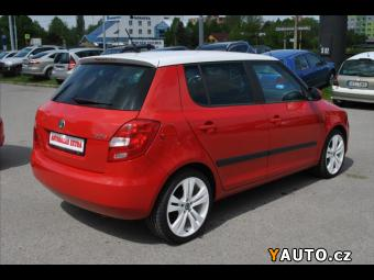 Prodám Škoda Fabia 1,6 TDi ČR, serviska, SPORT