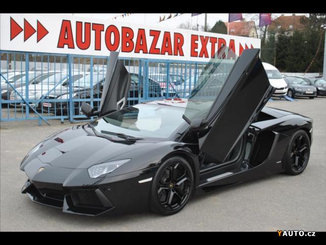 Prodám Lamborghini Aventador 6,5 LP 700-4 V12, DPH
