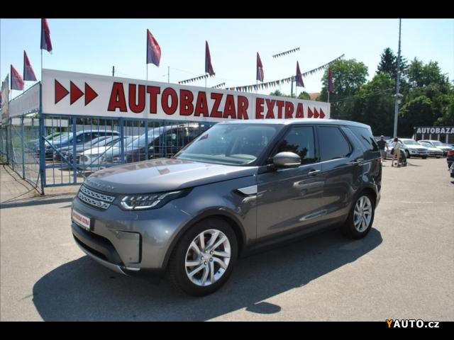 Prodám Land Rover Discovery 3,0 HSE 4x4, automat, DPH