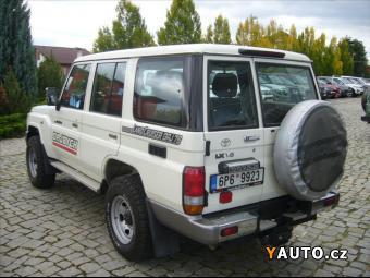 Prodám Toyota Land Cruiser 4,0 V6 5M, T LX GRJ 76