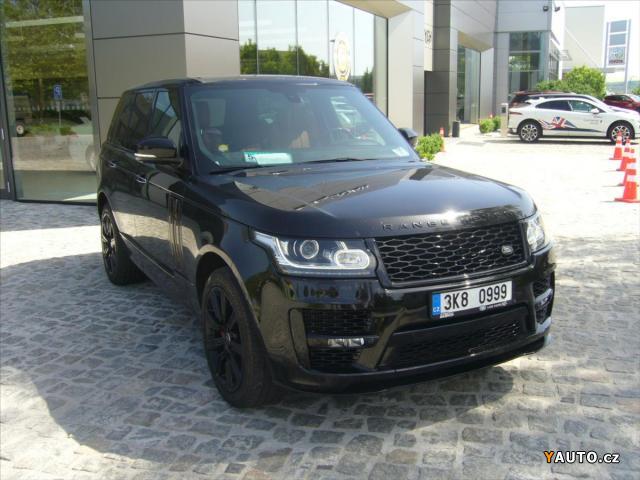 Prodám Land Rover Range Rover 4,4 SDV8 AT AB Panorama