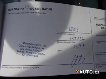 Prodám Chrysler Grand Voyager 2,8 D, ČR-1. majitel, 7míst