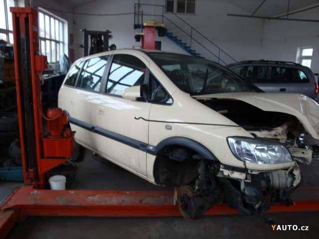 Prodám Opel Zafira CNG 1,6 16V