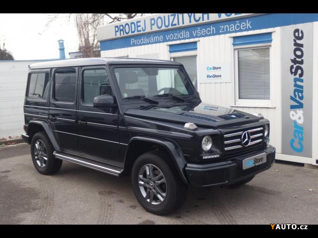 Prodám Mercedes-Benz Třídy G 3,0 G 350d ISP, prodloužená zá
