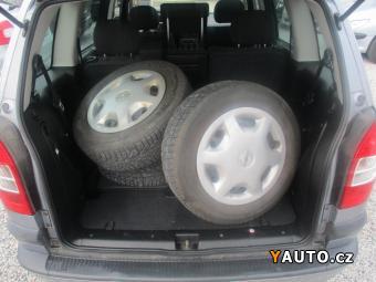 Prodám Opel Zafira 1,8 16 V Top stav ALU+Zimáky