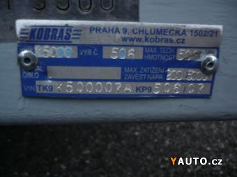 Prodám Kobras Jumbo 5000 valník