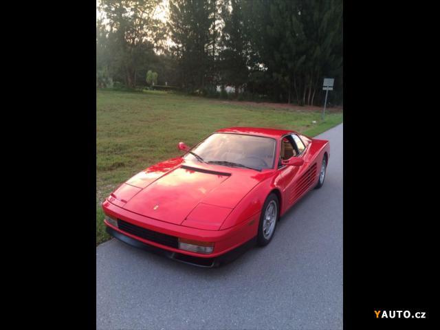 Prodám Ferrari Testarossa 4.9 12V 390PS