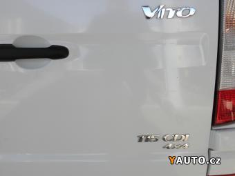 Prodám Mercedes-Benz Vito 115 4x4 110 kW AUT ČR CÉBIA DP