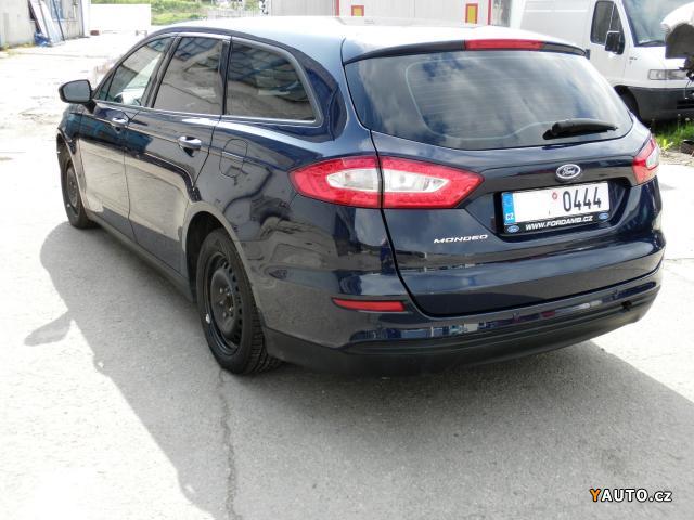 Prodám Ford Mondeo 110 kW ČR 06, 2015 GAR. km DPH