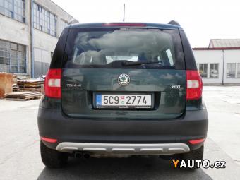 Prodám Škoda Yeti 1.8 TSI 118 kW 4x4 12, 2012 ČR