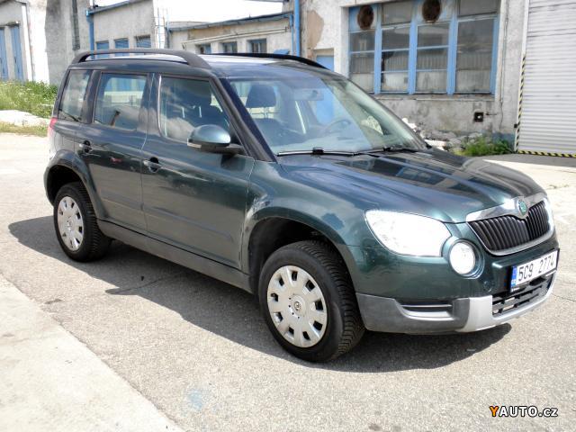 Prodám Škoda Yeti 4x4 1.8 TSI 118 kW, ČR DPH