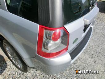 Prodám Land Rover Freelander 2,2 TD4, automat, kůže, servis