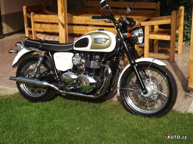 Prodám Triumph Triumph Bonneville T100