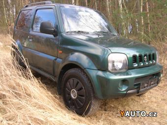 Prodám Suzuki Jimny 1.3 60 kw