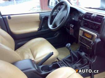 Prodám Opel Frontera 3,2 V6 BARBOUR LUXUS. VERZ