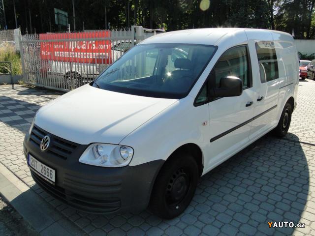 Prodám Volkswagen Caddy Maxi 1.9TDi 77kW