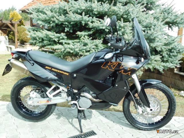 Prodám KTM 950 Adventure - Top stav