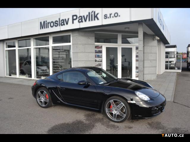 Prodám Porsche Cayman S PORSCHE DESIGN