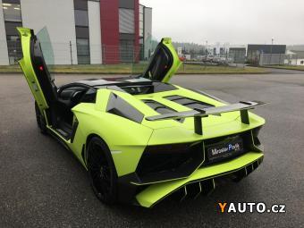 Prodám Lamborghini Aventador LP750 SV ARMYTRIX