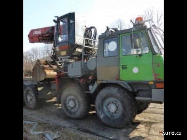 Prodám Tatra 815 8x8 les HR (z 1999