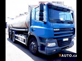 Prodám DAF 16m3 alu potr.cisterna 6x2