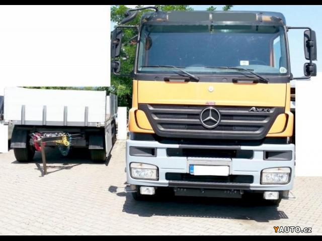 Prodám Mercedes-Benz 6x2 Eur4+HR+přívěs