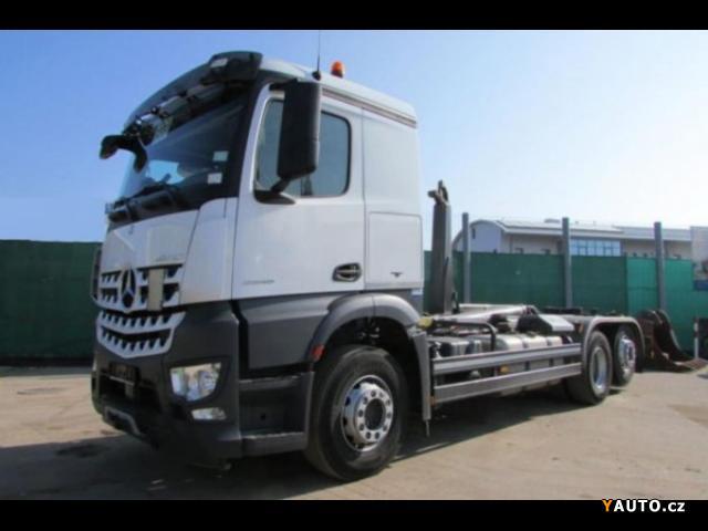 Prodám Mercedes-Benz Eur6 6x2 kontejner