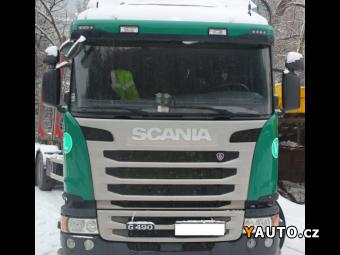 Prodám Scania 490G Eur6 +les návěs 36t