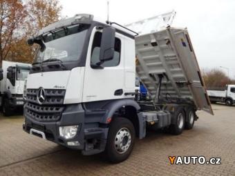Prodám Mercedes-Benz Eur6 sklápěč 6x4