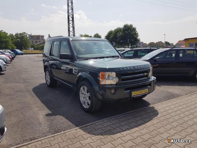 Prodám Land Rover Discovery 3 2.7TD 16V HSE 140kW 7 míst