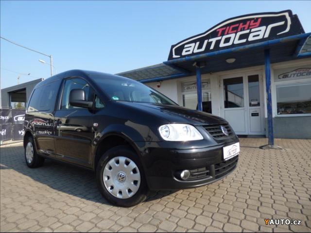 Prodám Volkswagen Caddy 2,0 CNG, Life, Digi Klima, servis