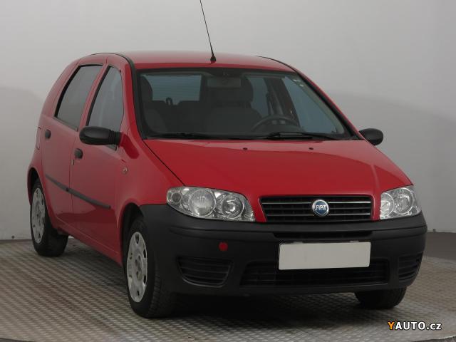 Prodám Fiat Punto 1.2 16V 80 59kW