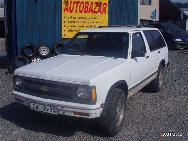 Prodm Chevrolet Blazer S 10 Prodej Chevrolet Blazer Ternn Vozy