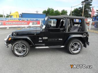 Prodám Jeep Wrangler Sahara
