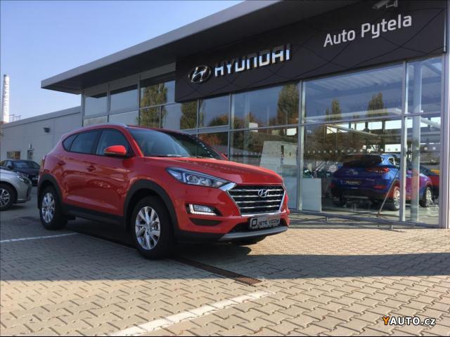 Prodám Hyundai Tucson 1,6 T-GDi, MT Trikolor + Trav