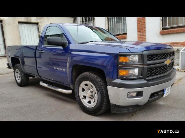 Prodám Chevrolet Silverado 4.3 V6 285KW 4x4 FLEX FUEL
