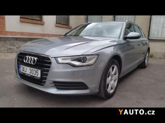 Prodám Audi A6 3.0TDI 1ČR QUATTRO-NAVI- KŮŽE