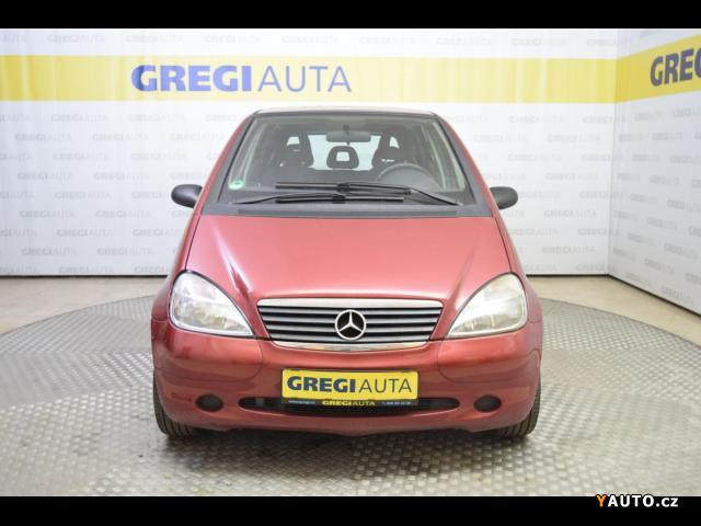 Prodám Mercedes-Benz Třídy A 140 1,4i, serviska, klima