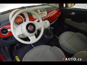 Prodám Fiat 500 1,4i+LPG, serviska, digi klima, T