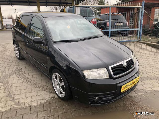 Prodám Škoda Fabia 1.9TDi PĚKNÁ A SERVISOVANÁ