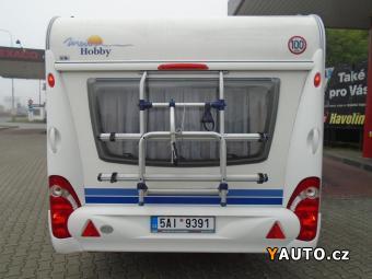 Prodám Hobby 540 UL De Luxe, markíza, držák kol