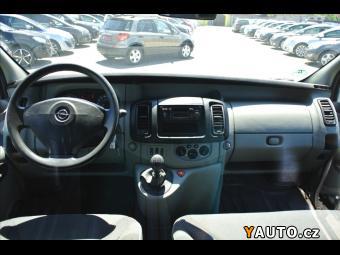 Prodám Opel Vivaro 2,0 CDTi 84kw 3-Míst*Klima*Kří