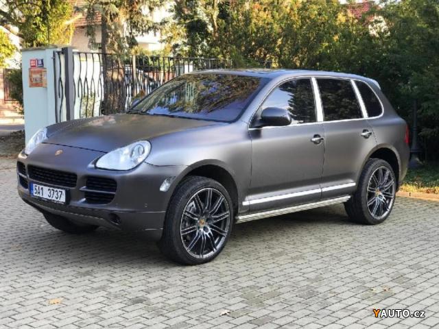 Prodám Porsche Cayenne S 4.5, TOP STAV CARBON