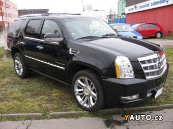 Prodám Cadillac Escalade 6,2V8 Platinum LPG