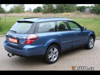 Prodám Subaru Outback 2.0D AWD ČR, 1. Maj., Servisní k