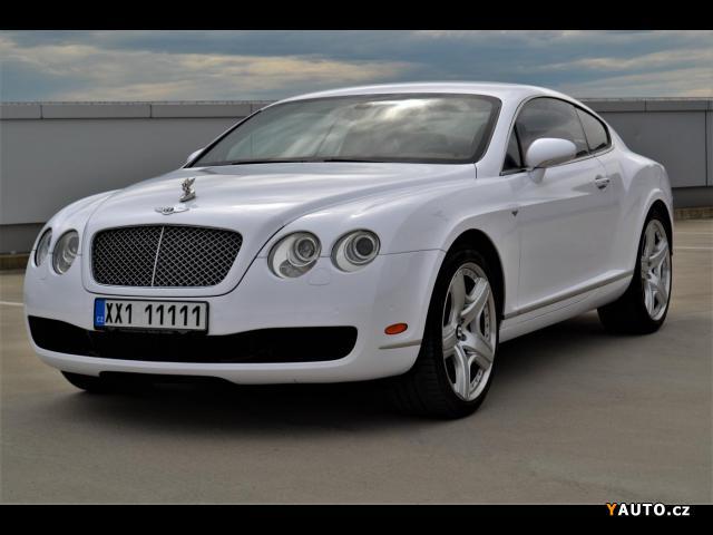 Prodám Bentley Continental GT 6.0 W12, 560 PS, 21