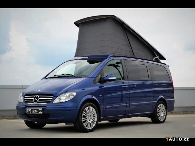Prodám Mercedes-Benz Viano 3.0 CDI FUN, AUTOMAT, 7MÍST, TOP